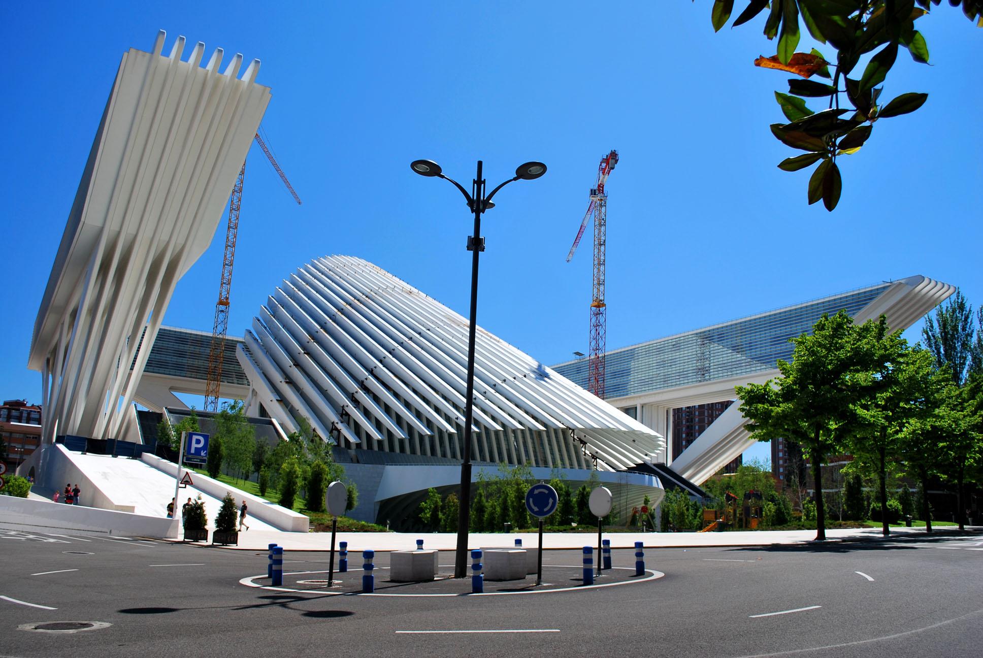 Palacio de Congresos Princesa Letizia, Oviedo - Garcu00eda
